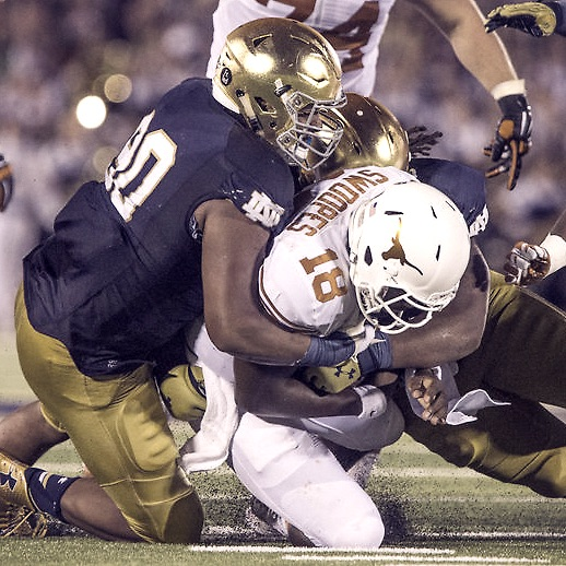 Notre Dame vs Texas Defense