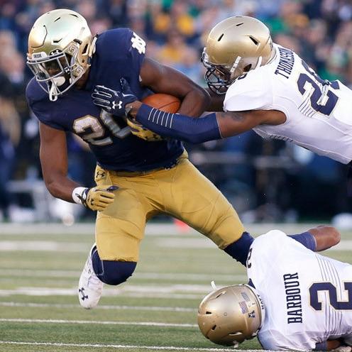 Notre Dame Offense Recap vs Navy