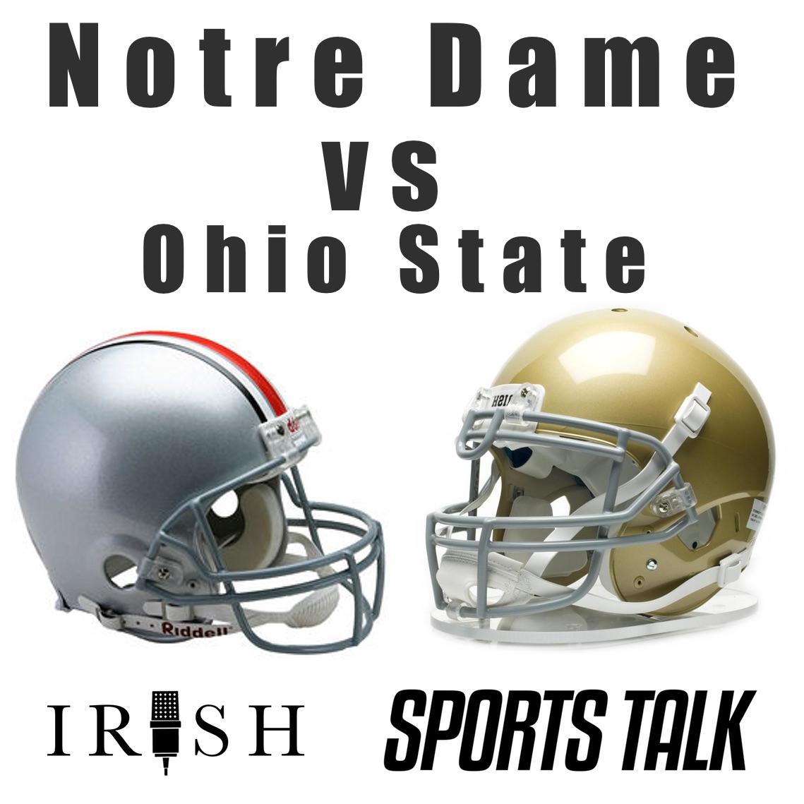 Notre Dame vs Ohio State in the Fiesta Bowl