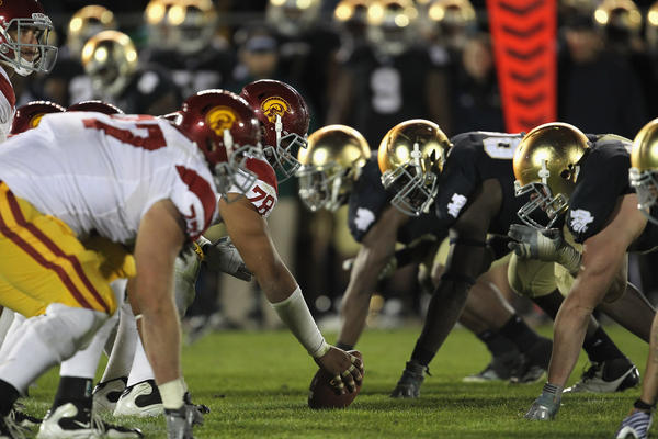 Notre Dame Defense Ranking from 2007 to 2015