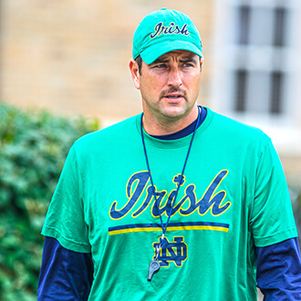 Could Mike Elston be the new defensive coordinator for Notre Dame?