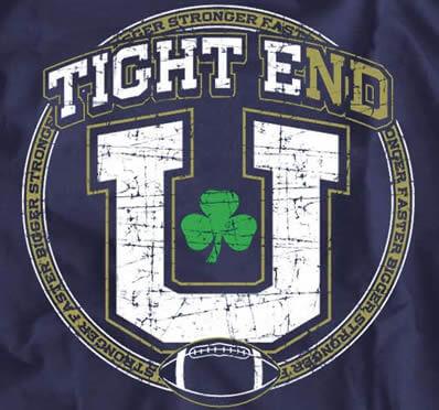 Make Notre Dame Tight End U