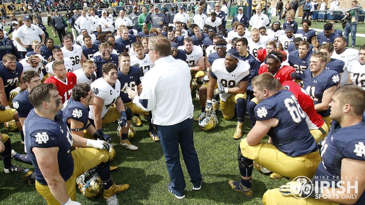 2017 Notre Dame Spring Game Recap