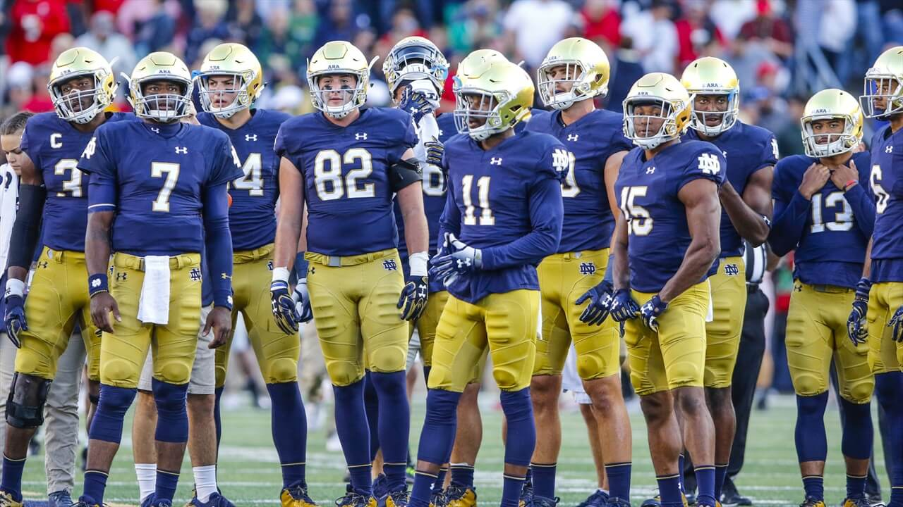 Analyze Notre Dame's Offense