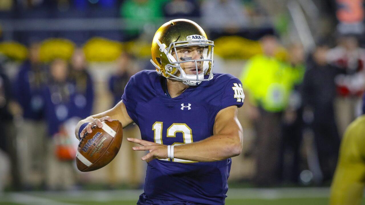 Ian Book, Notre Dame Quarterback