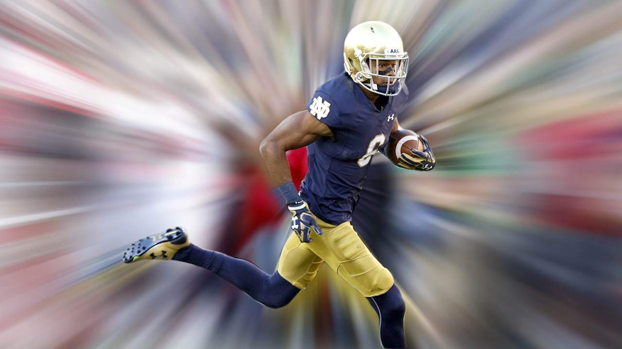 Notre Dame EQ Wide Receiver vs Miami of Ohio