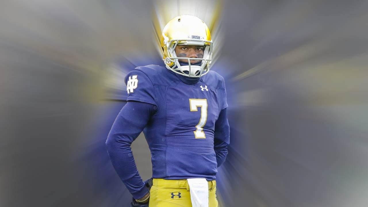 Brandon Wimbush, Notre Dame Quarterback