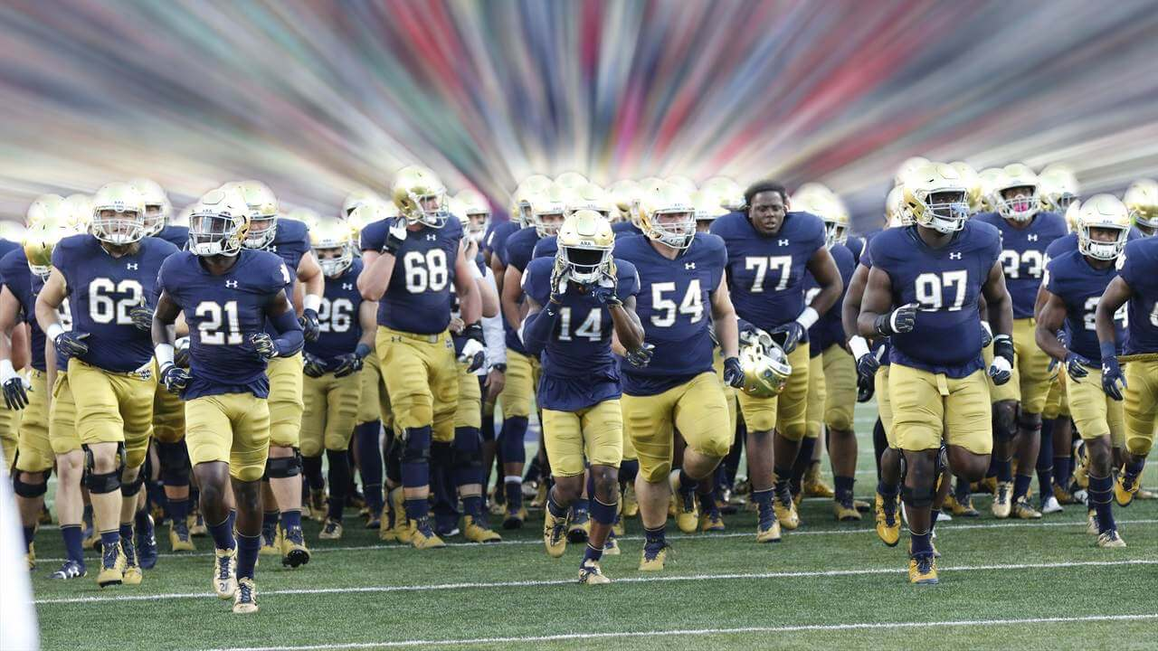 Notre Dame vs Navy Recruiting 2017